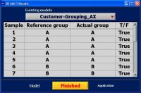 3R AMI T sofware – forming of classes (groups) from data – results_table